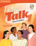 Let's Talk 2nd edition level 1 Student Book with Self -study Audio CD