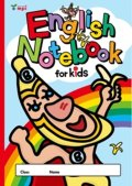 English Notebook for Kids バナくん