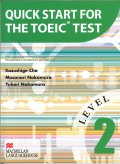 Quick Start for the TOEIC Test 2 Student Book with CD