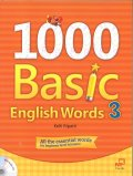1000 Basic English Words 3 Student Book with Audio CD