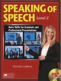 Speaking of Speech Level 2 Student Book with DVD