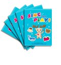Sing and Play! Blue Workbook Pack (5冊入り、CDなし)