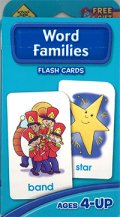 Word Families School Zone Flash Card