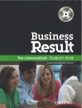 Business Result PreIntermediate Student Book Pack and DVD ROM