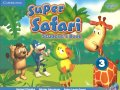 Super Safari American English 3 Student's Book with DVD ROM