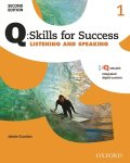 Q Skills for Success 2nd Edition Listening & Speaking level 1 Student Book with IQ online
