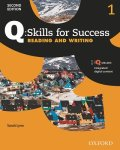 Q Skills for Success 2nd Edition Reading & Writing  level 1 Student Book with IQ online