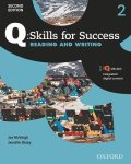 Q Skills for Success 2nd Edition Reading & Writing  level 2 Student Book with IQ online