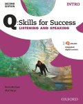 Q Skills for Success 2nd Edition Listening & Speaking level Intro Student Book with IQ online