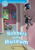 Level 1: Robbers at the Museum Book & CD Pack