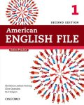 American English File 2nd Edition Level 1 Student Book w/Oxford Online Skills