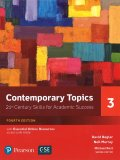 Contemporary Topics fourth edition Level 3 Student Book