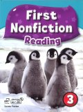 First Nonfiction Reading 3 Student Book  with Workbook and CD-ROM