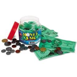 画像1: 紙幣&コインセット Money Jar