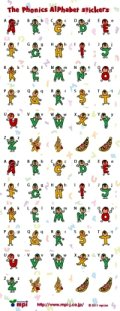 The Phonics Alphabet Stickers