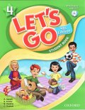 Let's Go 4th Edition level 4 Student Book with CD Pack