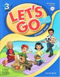 Let's Go 4th Edition level 3 Student Book with CD Pack
