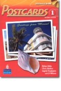 Postcards 2nd edition level 1 Student Book with CD-ROM including MP3 Audio