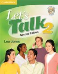 Let's Talk 2nd edition level 2 Student Book with self-study audio CD
