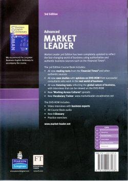画像2: Market Leader Advanced 3rd Edition Course Book w/DVD-ROM
