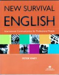 New Survival English Student Book with Self-Study CD+5回無料オンラインレッスン