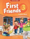 First Friends American Edition level 3 Student book and Audio CD Pack