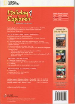 画像2: Holiday Explorer 1 Student Book with Audio CD
