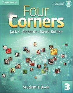 画像1: Four Corners 3 Student Book with Self-study CD-ROM