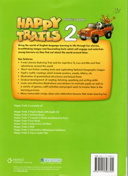 画像2: Happy Trails Level 2 Student Book w/Audio CD