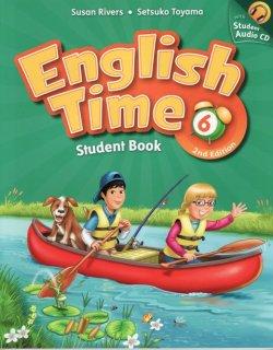画像1: English Time (2nd Edition) Level 6 Student Book with Student CD