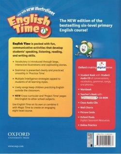 画像2: English Time (2nd Edition) Level 1 Student Book with Student CD