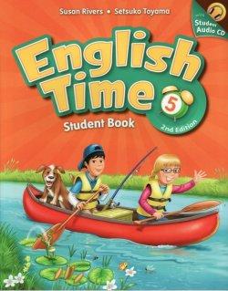 画像1: English Time (2nd Edition) Level 5 Student Book with Student CD