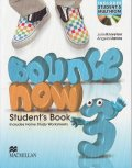 Bounce Now 3 Student's Book Pack