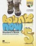 Bounce Now 5 Student's Book Pack