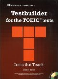 Testbuilder for the TOEIC tests Student Book with CD