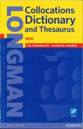 Longman Collocations Dictionary and Thesaurus Paperback