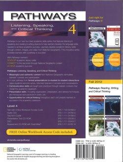 画像2: Pathways Listening Speaking and Critical Thinking 4 Student Book with Online Workbook Access Code
