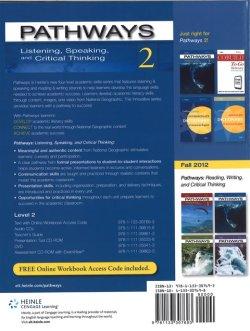画像2: Pathways Listening Speaking and Critical Thinking 2 Student Book with Online Workbook Access Code
