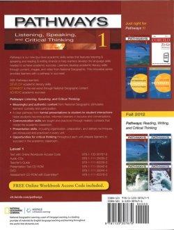 画像2: Pathways Listening Speaking and Critical Thinking 1 Student Book with Online Workbook Access Code