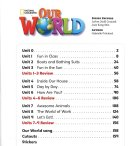 内容チェック!1: Our World 2 Student Book Text,Only