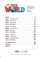 内容チェック!1: Our World 1 Student Book with CD-ROM