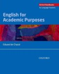 Oxford Handbooks for Language Teachers :English for Academic Purposes