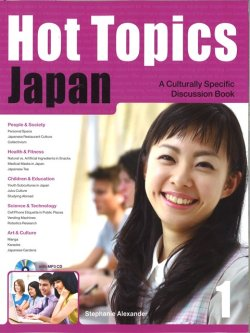 画像1: Hot Topics Japan 1 Student Book with MP3 CD