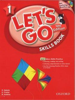 画像1: Let's Go 4th Edition level 1 Skills Book w/Audio CD
