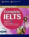 Complete IELTS Intermediate Bands5-6.5  Student Book w/Answers /CD-ROM