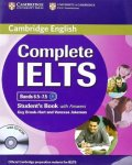 Complete IELTS Bands 6.5-7.5 Student Book w/Answers /CD-ROM