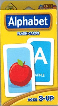 画像1: Alphabet School Zone Flash Card