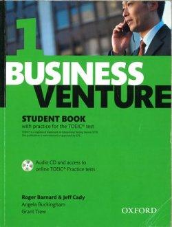 画像1: Business Venture 3rd edition level 1 Student Book with CD