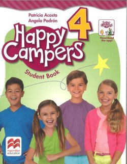 画像1: Happy Campers Level 4 Student Flipbook