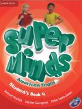 Super Minds American English Level 4 Student book with DVD-ROM